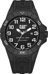 CAT Special Ops 3HD Watch Black/White with Silicone Strap