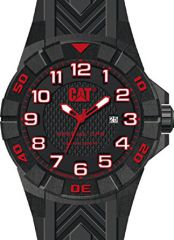 CAT Special Ops 3HD Watch Black/Red with Silicone Strap