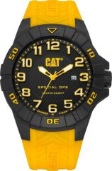 CAT Special Ops 3HD Watch Black/Yellow with Silicone Strap