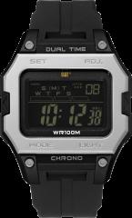 CAT DIGI2 Digital Watch Grey/Black/Black Digital with Silicone Strap