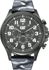 CAT Operator Camo Multi Watch Grey with Silicone Strap
