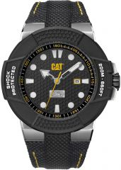 CAT Shockmaster 3HD Watch Black with Nylon Strap
