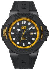 CAT Shockmaster Watch Black/Yellow - IP Silicone