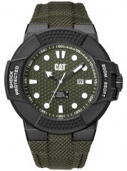 CAT Shockmaster 3HD Watch Green with Nylon Strap