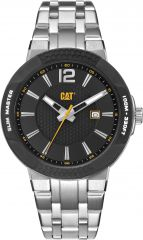 CAT Shockmaster 3HD Slim Black with Stainless Steel Strap