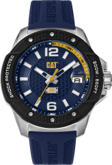 CAT Shockmaster Evo 3HD Watch Blue with Silicone Strap